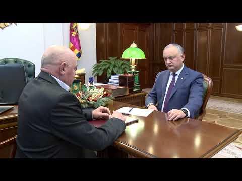 Igor Dodon a avut o întrevedere cu președinții raioanelor Taraclia și Basarabeasca