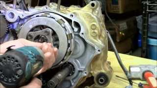 10. Honda Rancher crankshaft part 4 of 4 engine rebuild