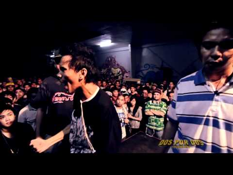 FlipTop - Sayadd/Aklas vs Melchrist/Papew @ Dos Por Dos Tournament