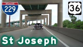Saint Joseph (MO) United States  city photos gallery : Highway Tour of St Joseph, MO