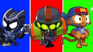 Bloons TD 6 - 4-Player My Hero Academia Challenge | JeromeASF