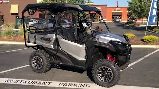 10. Contra Costa Powersports-New 2019 Honda Pioneer 1000 Deluxe 5 seat side X side all terrain vehicle