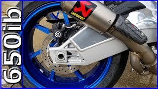8. Painted 2018 BMW S1000RR Wheels BLUE! 🔥🔥🔥
