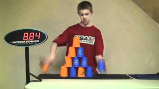 Amazing Speed Stacks - must see to believe!