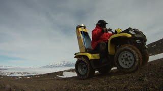 NASA | OIB: Four-wheeling Antarctica