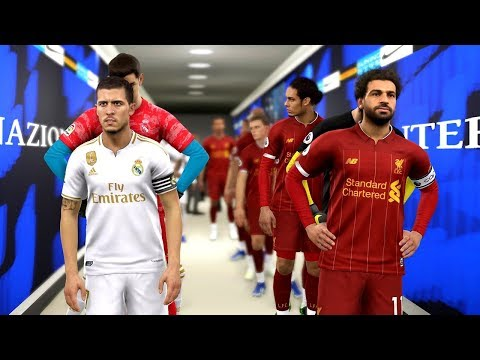 Real Madrid Vs Liverpool (Hazard Scored 2 Goals) | PES 2019