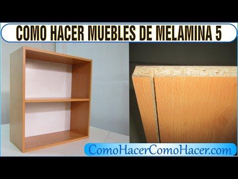 bricolage como hacer muebles laminados melamina 5