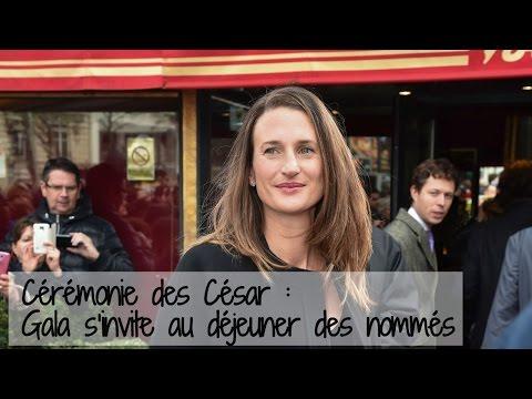 Florence Foresti, Camille Cottin & co au déjeuner des César 2016