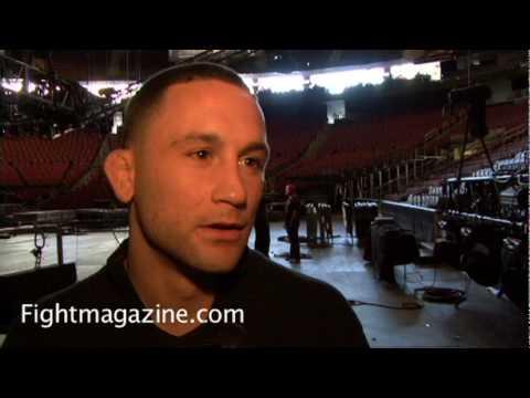 Frankie Edgar at UFC 111 talks UFC 112