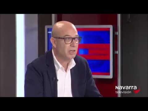 "José Suárez participa en la tertulia ""El Dilema"" de Navarra TV"