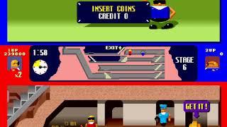 Bonanza Bros. [bnzabrosj] (Arcade Emulated / M.A.M.E.) by Dumple