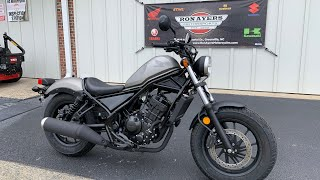 5. 2018 Honda Rebel 300