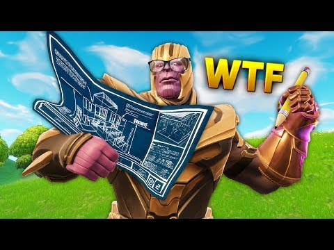 Reddit funny - THANOS IN BUILDING MODE..!!!  Fortnite Funny and Best Moments Ep.111 (Fortnite Battle Royale)