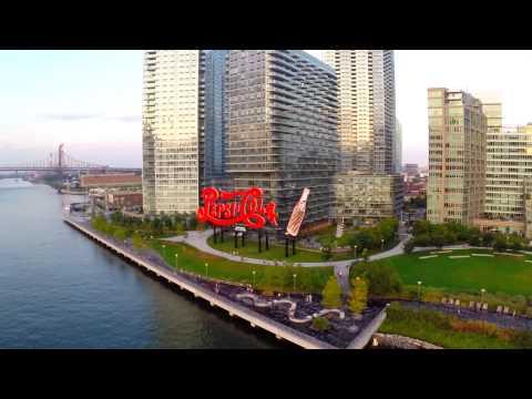 new york: il volo del drone sui 5 distretti è favoloso!