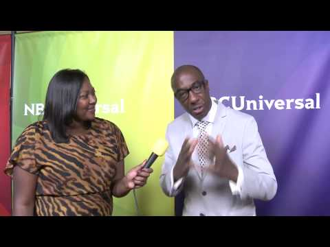JB Smoove from Last Comic Standing  @ NBC Red Carpet | AfterBuzz TV