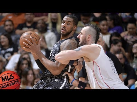 San Antonio Spurs vs Washington Wizards Full Game Highlights / March 21 / 2017-18 NBA Season (видео)