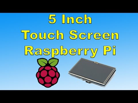5 Inch Wave Share Touch Screen For Raspberry Pi Unboxing And Test
