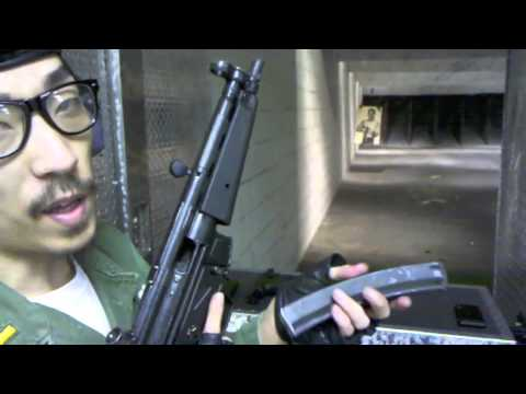 H&K MP5A2 9X19mm SMG Full Auto , H&K USP 9X19mm pistol