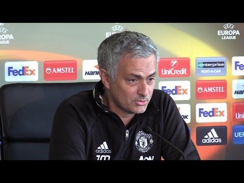 Jose Mourinho Full Pre-Match Press Conference - Ajax v Manchester United - Europa League Final (видео)