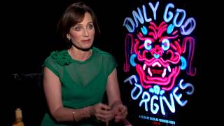 Kristin Scott Thomas Interview - Only God Forgives (JoBlo.com)