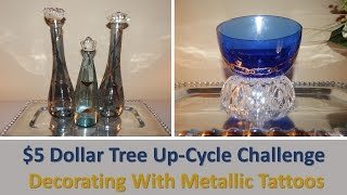 $5 Dollar Tree Up-Cycle Challenge