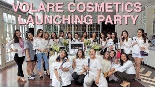 """VOLARE COSMETICS LAUNCHING PARTY  VLOG 3  SORAYA HYLMIPLEASE HELP ME GROW MY CHANNEL! :)—— THUMBS UP AND SUBSCRIBE —— http://www.volarecosmetics.comhttp://www.volarecosmetics.asiaUse my discount code """"SORAYA30"""" to get 30% off from your purchase via VOLARE COSMETICS website.This discount code only valid until September 30th, 2016.VOLARE is the best makeup brushes that I've tried!!I N S T A G R A M —&-- T W I T T E R :http://www.instagram.com/sorayahylmihttp://www.twitter.com/sorayahylmiB E A U T Y   B L O G :http://www.ayabeautytips.blogspot.com--------------------------------------------------------------------------------------Video taken with :— SONY A5100Edited with :— iMovie"""