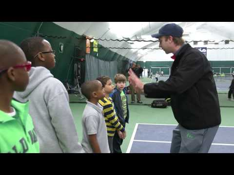 Game On! A Junior Tennis Champions Center outreach program