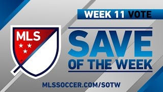 Save of the Week | Vote for the Top 8 MLS Saves (Wk 11) by Major League Soccer