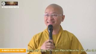 Sư phạm hoằng pháp 10: Ba nguyên tắc dạy Phật pháp- TT. Thích Nhật Từ- 12-03-2016