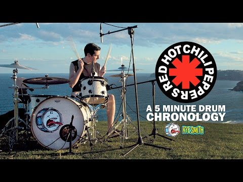 Red Hot Chili Peppers A 5 Minute Drum Chronology