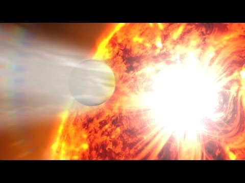 NASA | Exoplanet Atmosphere Blasted by Stellar Flare