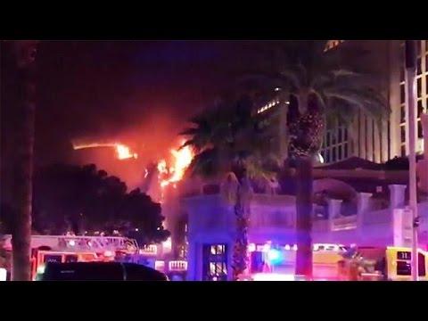 Πυρκαγιά στο ξενοδοχείο Bellagio