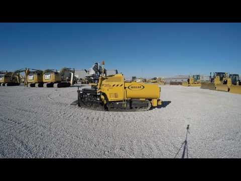 WEILER PAVIMENTADORA DE ASFALTO P385A equipment video s9d9XREeMSc