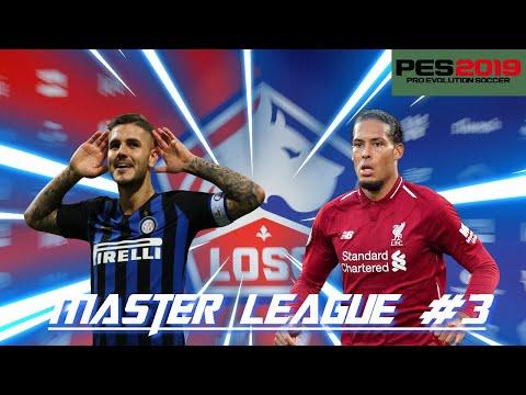 PES2019 PSP - Master League #3 - Icardi et Van Dijk, les nouvelles recrues