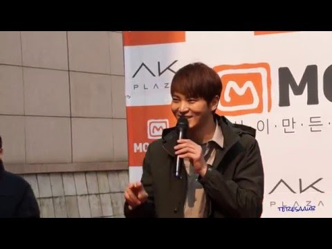 2016-03-12 Joo Won Mountia Sign Event at Guro AK Plaza - Finish (видео)