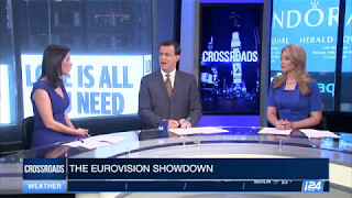 Video Explaining Eurovision to American audience on #i24NEWS #CROSSROADS MP3, 3GP, MP4, WEBM, AVI, FLV Maret 2018