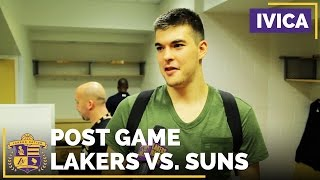 Ivica Zubac Talks About His Best Moment As A Laker by Lakers Nation