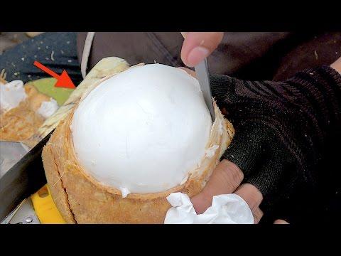 Video Amazing Coconut Cutting Skill | Fruit Market Worker Street Food download in MP3, 3GP, MP4, WEBM, AVI, FLV January 2017