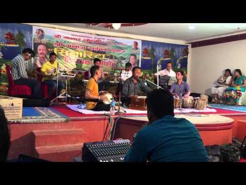 Madhukar Lohani with Manoj's Senorita practice