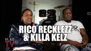 Rico Recklezz on Doing 2 Years in Prison, Killa Kellz Catching 3rd Gun Case