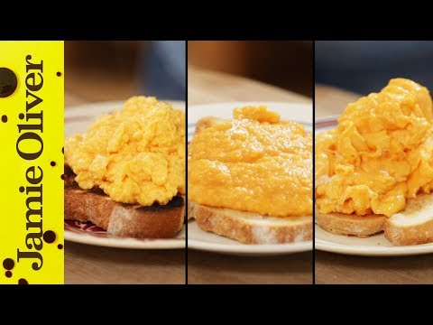 How To Make Perfect Scrambled Eggs - 3 ways %7C Jamie Oliver