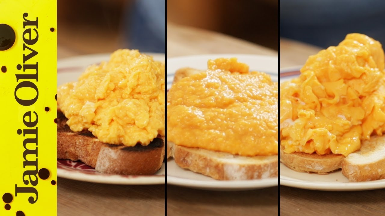 How To Make Perfect Scrambled Eggs  3 Ways