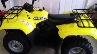 9. Suzuki eiger 400 4x4