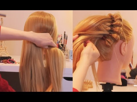 ASMR Doing Doll Hair - Doll Hair Salon - Brushing, Up-do & Braiding