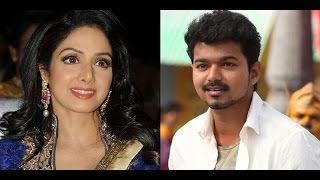 Vijay Surprised and Praised Sridevi