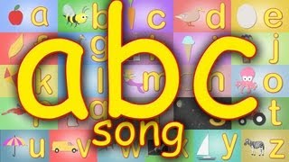 The ABC song. Fun alphabet learning song for kids.  Learn ABCs.