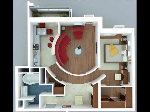 Apartamentos planos gratis videos videos relacionados for Disenos de apartamentos pequenos