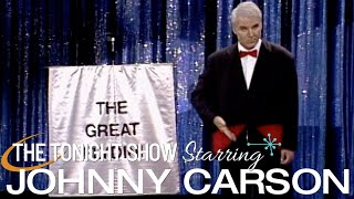 Steve Martin's Great Flydini Amazing Magic Tricks on Johnny Carson's Tonight Show 1992