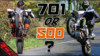 4. Which Supermoto Should You Buy 701 or 500 EXC? | Pros & Cons