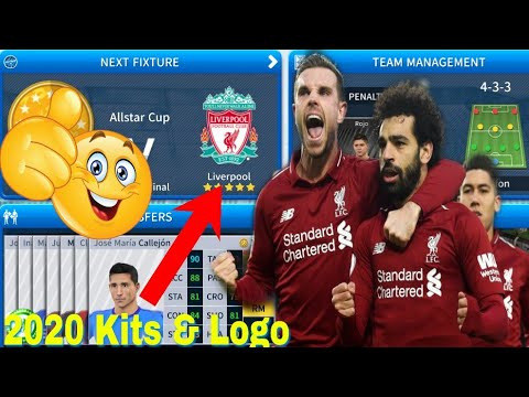 Dream League Soccer 2019 - How To Create Liverpool FC New Kits & Logo